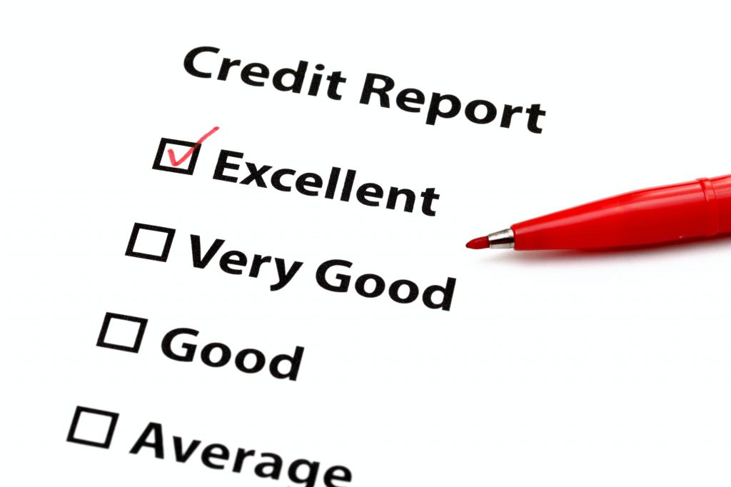 maintaining a good credit report
